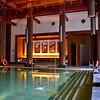 The St. Regis spa's golden bottom pool