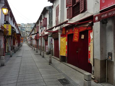 Rua Felicidade, Macau - China