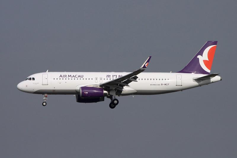 "B-MCF Airbus A320-232 ""Air Macau"" c/n 6934 Tokyo-Narita/RJAA/NRT 18-10-17"
