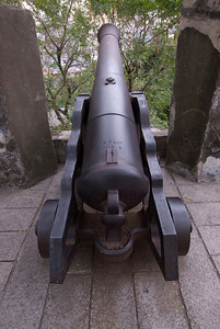Cannon at Fortress in Macau