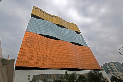 Modern design at MGM Grand Tower in Macau