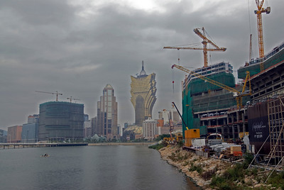 Casino Construction ongoing at Macau