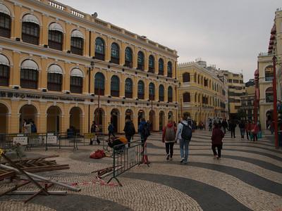 Largo de Senado Macau (Foto: Geir)