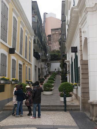 En gate i Macao (Foto: Geir)