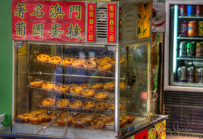 Portuguese Egg Tarts for sale in Macau