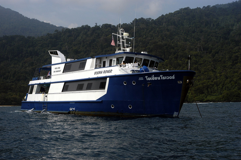 1st Malaysian Sea Slug Expedition<br /> Ocean Rover<br /> Photo by David B.