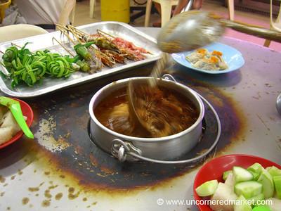 Malaysian Food, Satay and Spices - Melaka, Malaysia