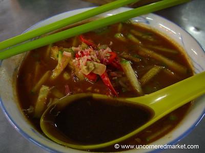 Malaysian Food, Assam Laksa - Penang, Malaysia