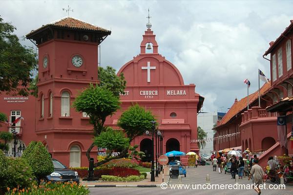 Christ Church and Stadthuys - Melaka, Malaysia