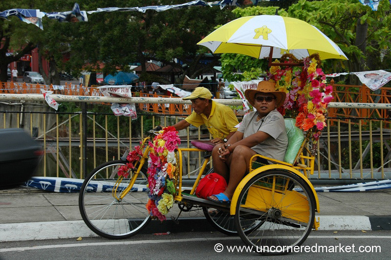 Bicycle Tour Around Melaka, Malaysia