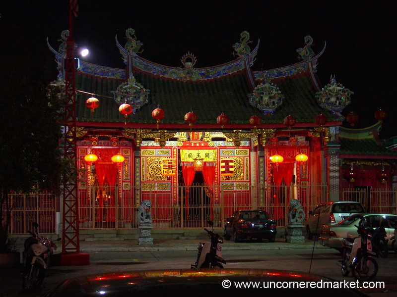 Traditional Chinese Temple - Penang, Malaysia