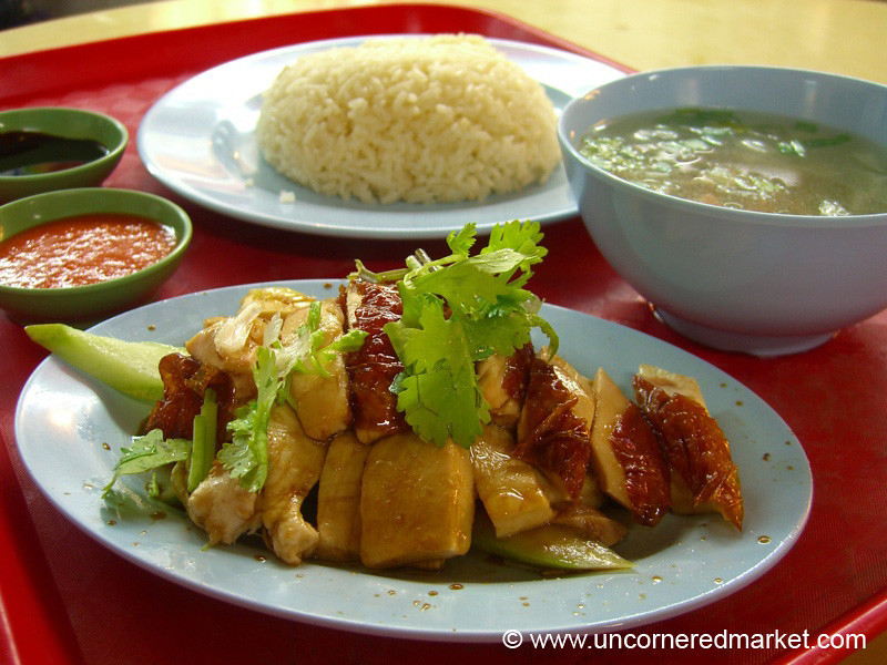 Hainanese Chicken Rice - Singapore