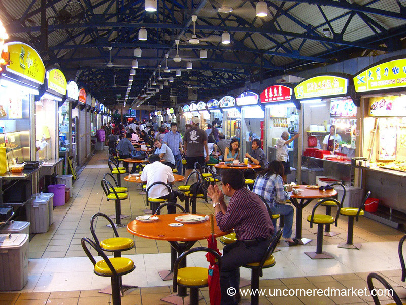Maxwell Hawker Center - Singapore