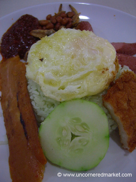 Malaysian Food, Nasi Lemak - Sim Lim Square, Singapore