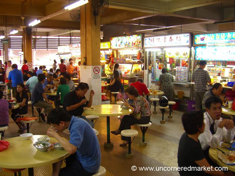 Singapore Hawker Center  - Chinatown Complex