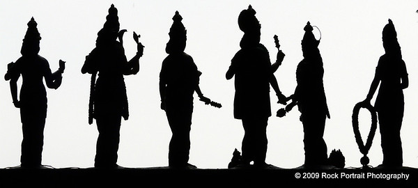 Silhouettes of Gods