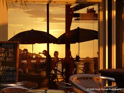 Sunset at the Coffee Bean reflects a great lifestyle