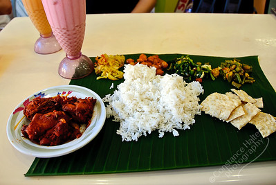 Cameron Highlands - banana leaf lunch