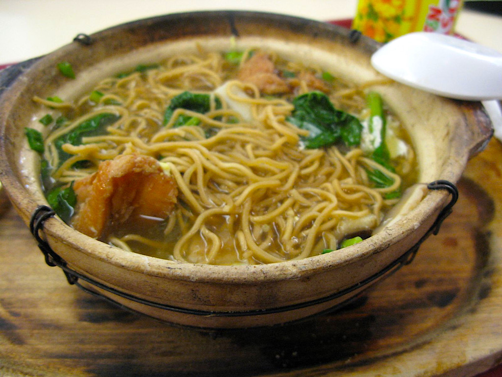 Unsafe for celiacs in Malaysia: mee noodles