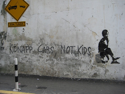 Kuala Lumpur Street Art Nov. 2007