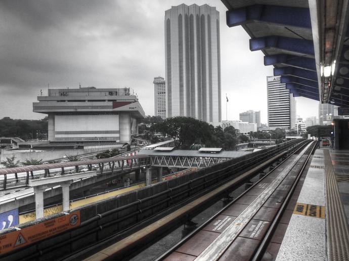 kuala lumpur metro stop