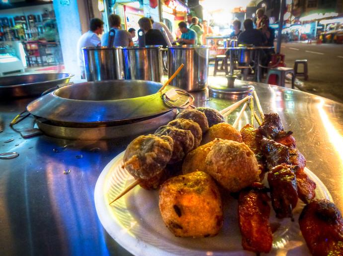 petaling street kl street food
