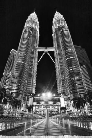 The Petronas Towers - Kuala Lumpur, Malaysia