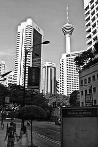 Urban landscape/life scene at Kuala Lumpur.