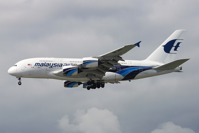 "9M-MNC Airbus A388-841 ""Malaysia Airlines"" c/n 084 Heathrow/EGLL/LHR 30-05-17"