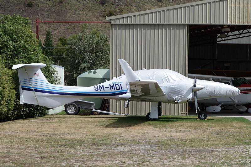 9M-MDI Diamond DA-42 c/n unknown Wanaka/NZWF/WKA 09-02-15