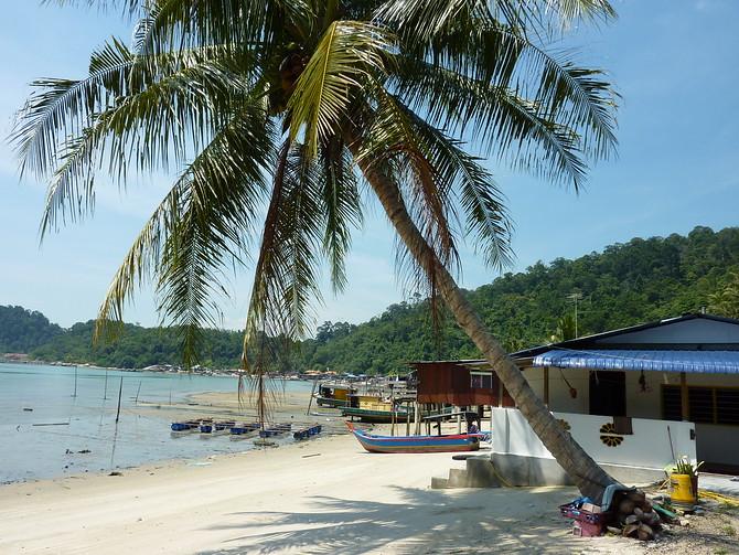 Teluk Gedong on Pangkor Island, Malaysia