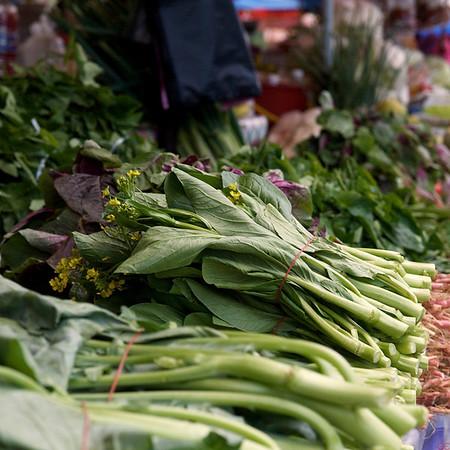 Marked i nærheten av Mt. Kinabalu (Foto: GeirI