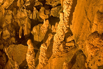 Cave Formations inside the Wind Cave at Mulu National Park - Sarawak, Malaysia