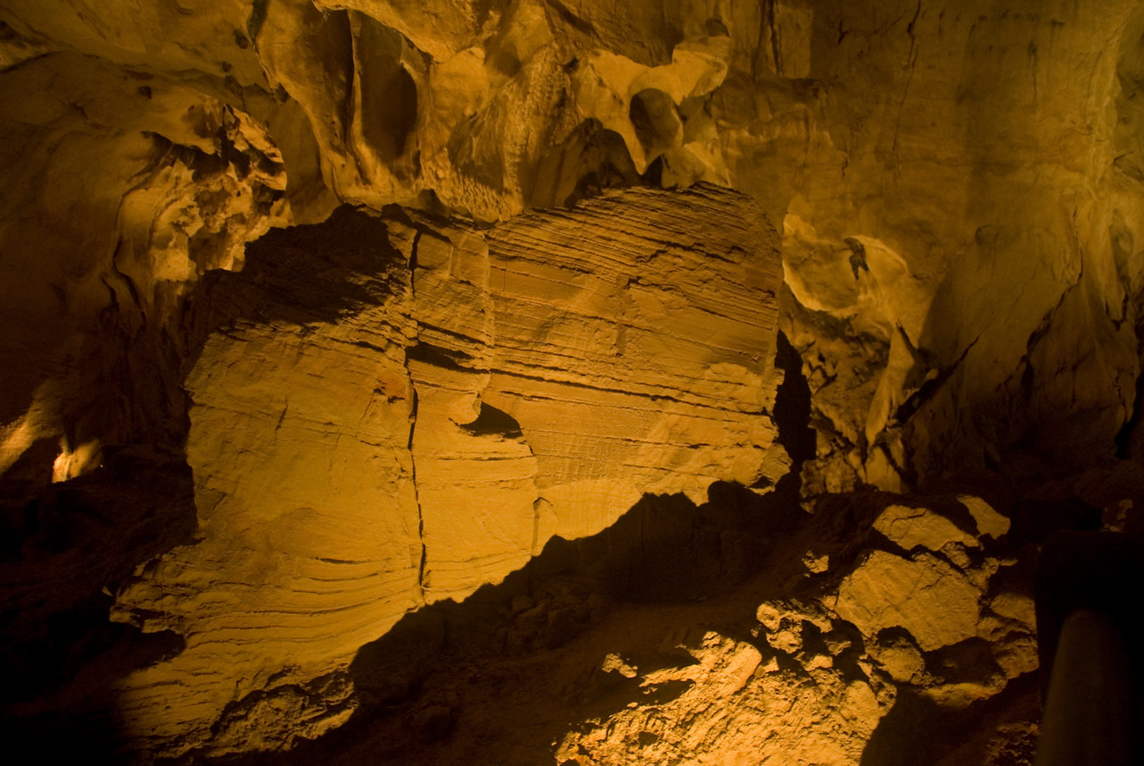 Sediment Formation in Clearwater Cave at Mulu National Park - Sarawak, Malaysia