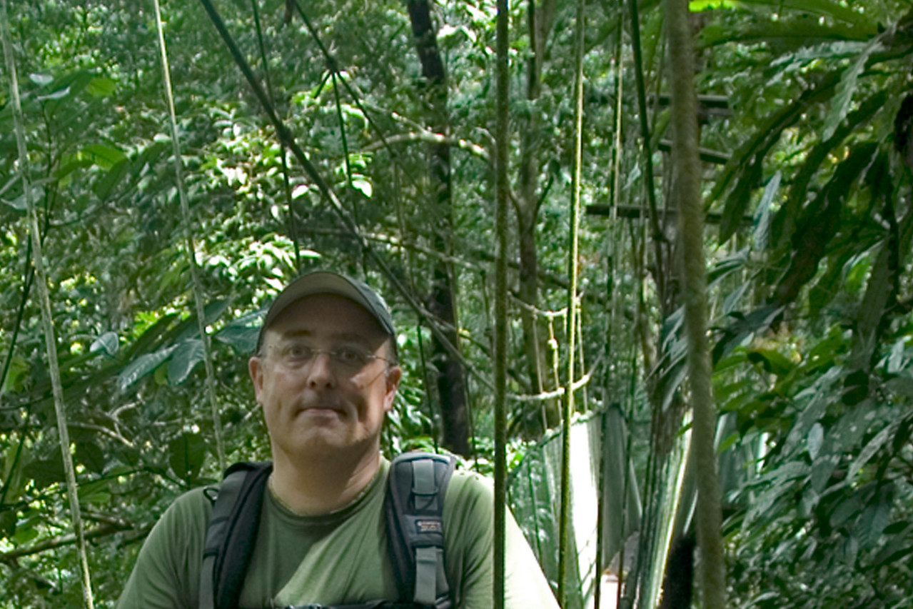 Portrait in the middle of rainforest at Mulu National Park - Sarawak, Malaysia