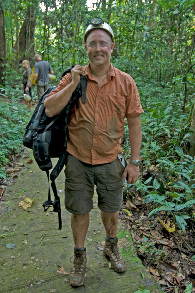 Me After Runner Cave in Mulu National Park - Sarawak, Malaysia