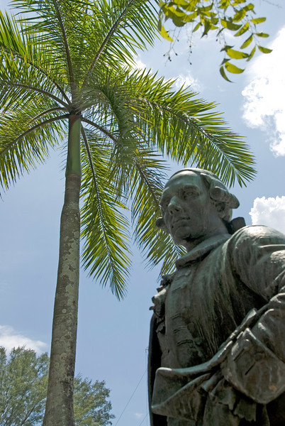 Statue spotted in Fort Cornwallis - George Town, Penang, Malaysia