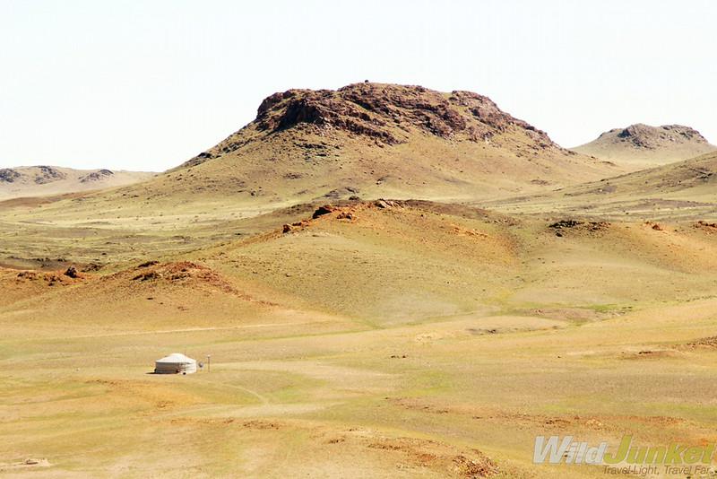 The hills surrounding Ongiin Khiid
