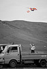 Kite Flying - local Naadam festival
