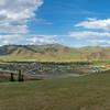 view into Gorkhi Terelj National Park