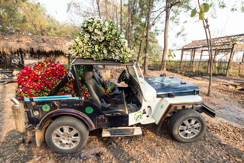 And their seems no limit on how many one can try and transport on a single motorcycle or in a small jeep.