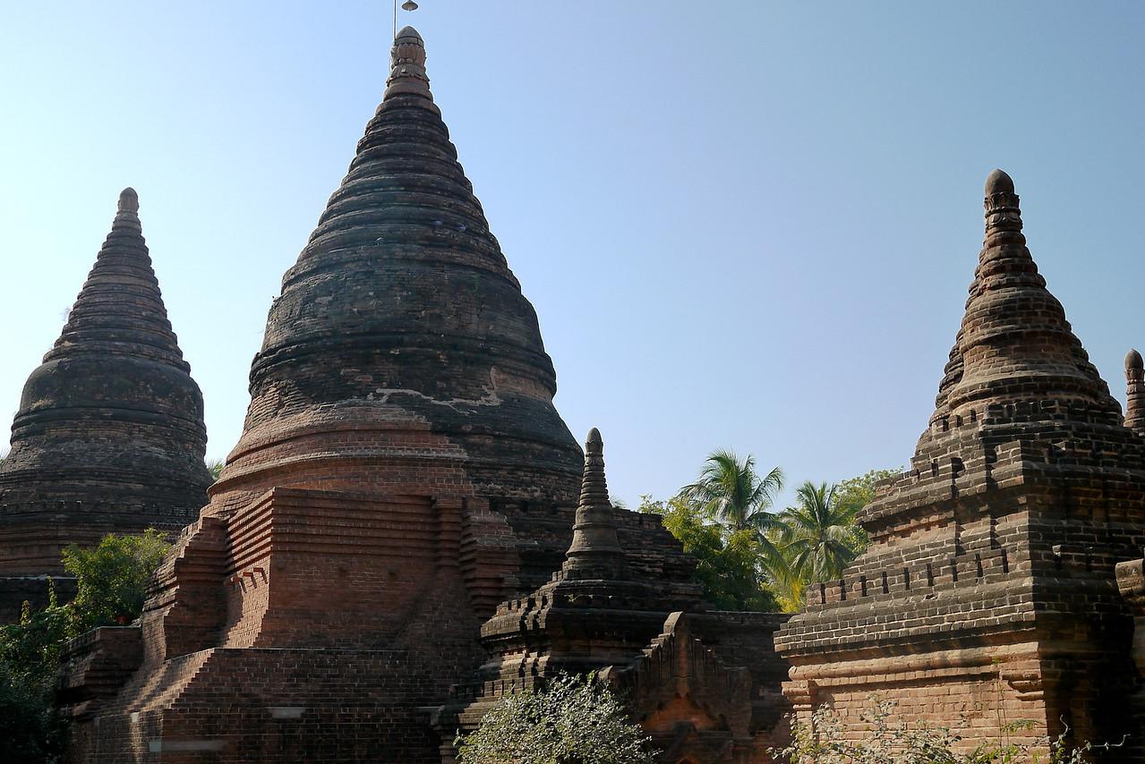 A temple in Bagan, Burma (Myanmar)