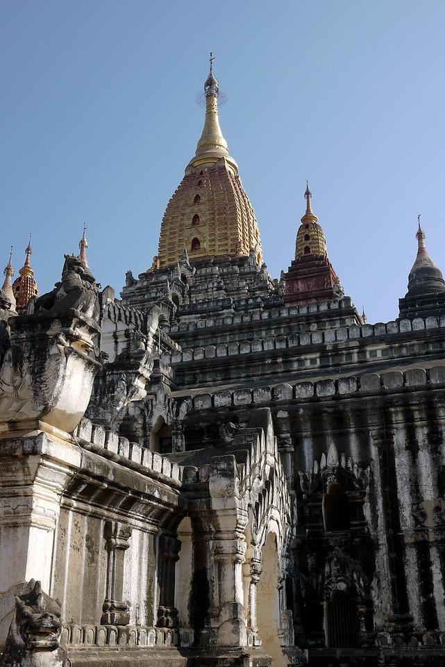 Ananda Paya temple in Bagan, Burma (Myanmar)