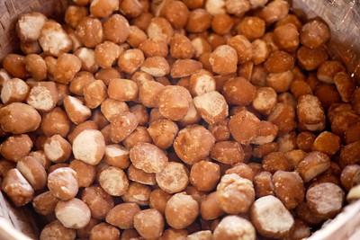 Little balls of jaggery sweets in Bagan, Burma (Myanmar)