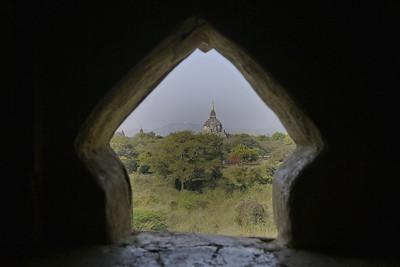Shwegugyi Temple in Bagan, Burma (Myanmar)