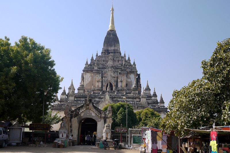 Gawdawpalin Temple in Bagan, Burma (Myanmar)