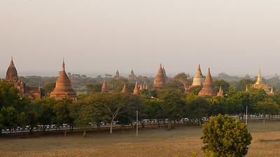 Sunset over Bagan, Burma (Myanmar)