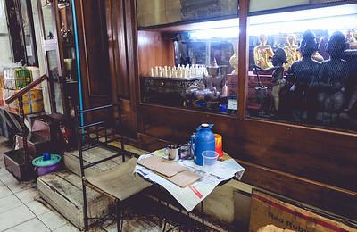 Tea Behind An Antique Shop