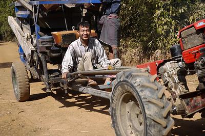 Big smiles near Hpa-An, Burma.