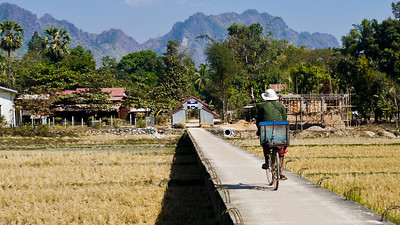 Rural Hpa-An, Burma.